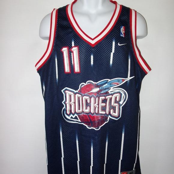 reputable site 61b74 a5122 Nike Houston Rockets Yao Ming Jersey #11 M Blue